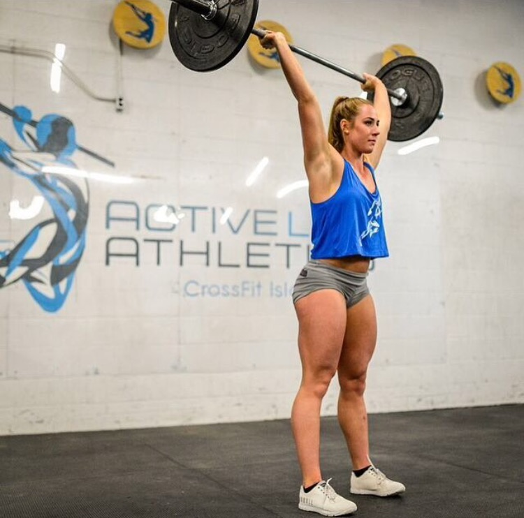 CrossFit Games athlete Brooke Wells works closely with the Active Life to help her shoulders.