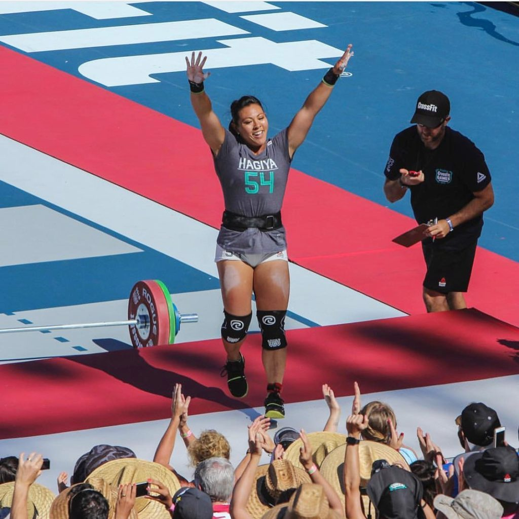 Hayiga at the CrossFit Games