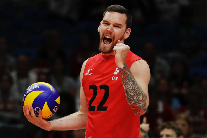 Mens canadian vollyeball - ESPN pic
