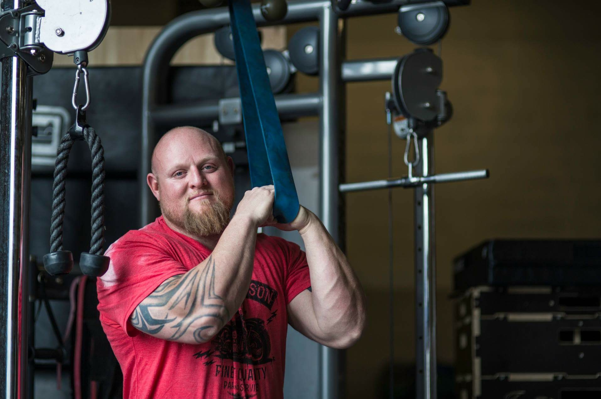 Wenning is a world-record holder powerlifter with a masters degree and an impressively short injury list in 20-plus years.
