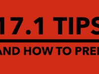 17.1 Tips and How to Prep