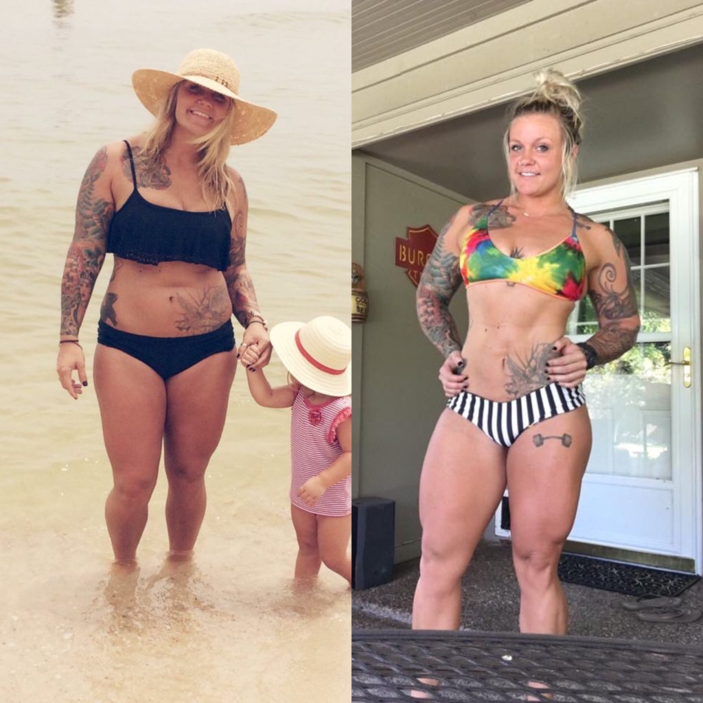 Quot This Is 200 Pounds Quot Kaitlin Burgess Story Athlete Daily